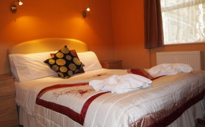 This is an example of one of the cosy room types here at Hotel Balmoral.