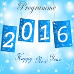 New Year 2016 programme front