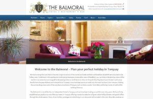 New website screen shot balmoral