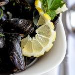 Mussels at balmoral hotel Torquay Devon