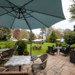 Terrace with seating outside for al fresco dining